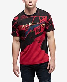 Men's Foil Engineered Print T-Shirt