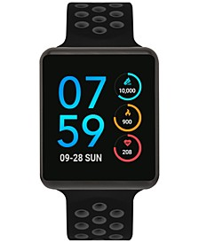 Unisex Air Black & Grey Silicone Strap Touchscreen Smart Watch 45mm, A Special Edition