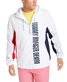 Tommy Hilfiger Men's Caleb Logo Windbreaker Jacket, Created For Macy's