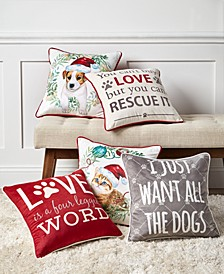 Pet Word Decorative Pillow Collection
