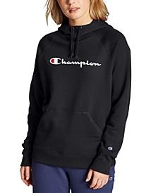 Women's Powerblend Cotton Logo Hoodie