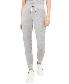 Calvin Klein Velour Jogger Pants