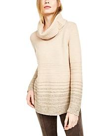Striped Turtleneck Sweater