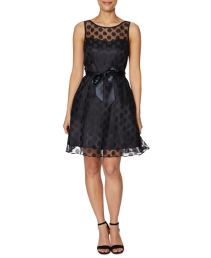 Betsey Johnson Dresses POLKA DOT ILLUSION DRESS