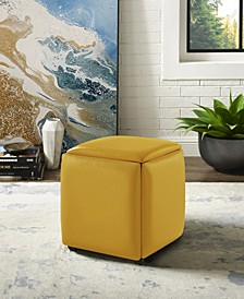 Brisa 5-Seat Convertible Ottoman with Casters