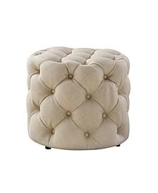 Remarkable Round Tufted Ottoman Macys Creativecarmelina Interior Chair Design Creativecarmelinacom