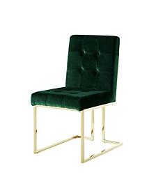 Vanderbilt Upholstered Dining Chair with Metal Frame Set of 2