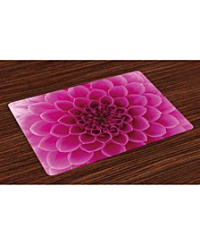 Floral Place Mats, Set of 4