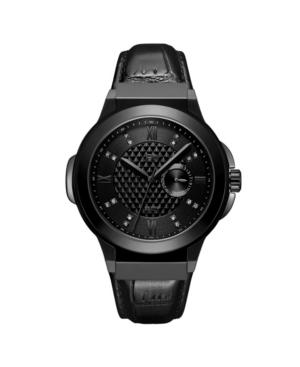 Men's Saxon Diamond (1/6 ct. t.w.) Watch in Gunmetal-plated Stainless Steel Watch 48mm