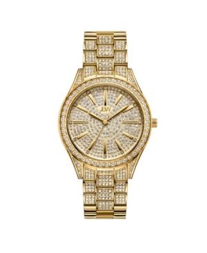 Women's Cristal Diamond (1/8 ct. t.w.) Watch in 18k Gold-plated Stainless-steel Watch 38mm
