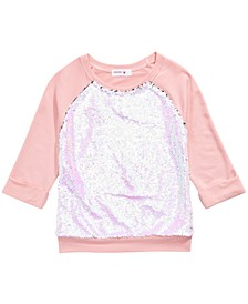 Big Girls Flip Sequin Top