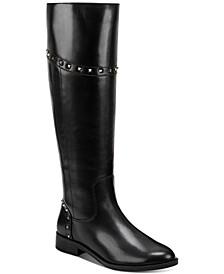 Secalm Stud-Trim Boots