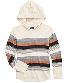 Big Boys Omar Stripe Hooded T-Shirt