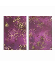Mulberry Trail Printed Canvas, Set of 2