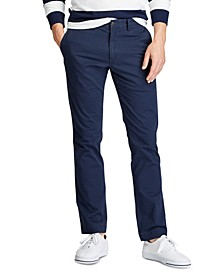 Men's Slim-Fit Stretch Chino Pants