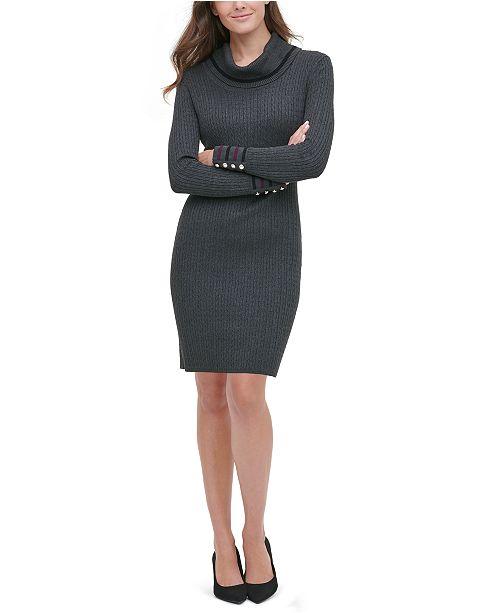 Tommy Hilfiger Cowlneck Sweater Dress