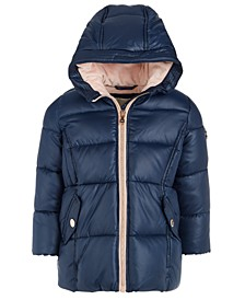 Baby Girls Stadium Hooded Puffer Jacket