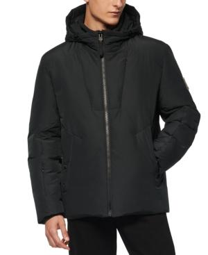 Men's Spalding Down-Filled Hooded Jacket
