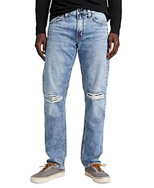 Men's Eddie Relaxed-Fit Tapered Jeans
