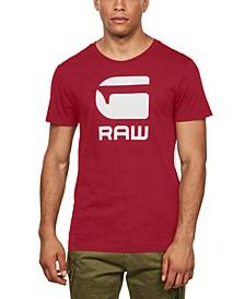 Men's Flocked Hamburger T-Shirt