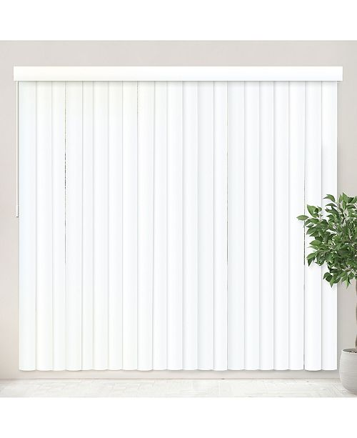 "Chicology Vertical Blinds, Patio Door or Large Window Shade, 78"" W x 84"" H"