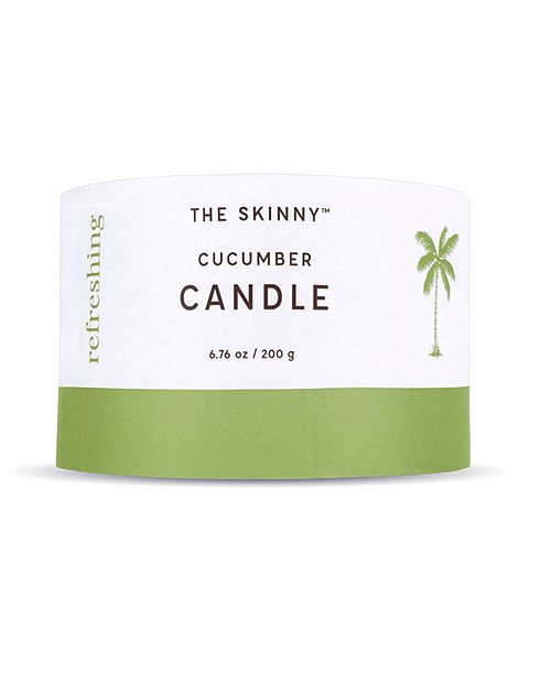 Skinny & Co. Tasalli Coconut Oil Beeswax Candle - Fresh Cucumber