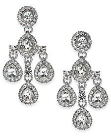 Crystal & Stone Chandelier Earrings, Created For Macy's