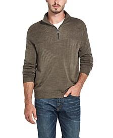 Men's Soft Touch Quarter-Zip Sweater