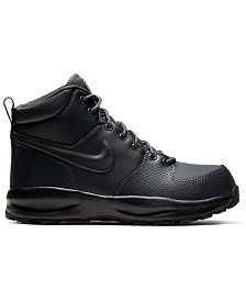 Nike Big Boys Manoa Leather Boots from Finish Line