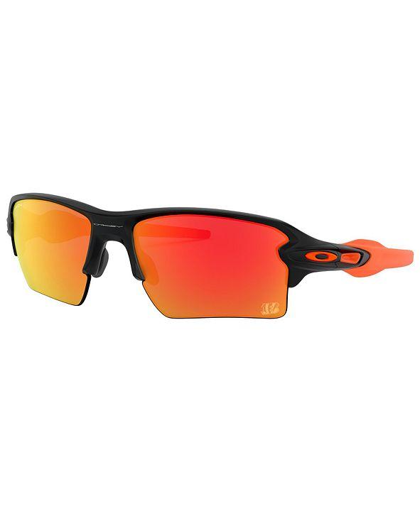 Oakley NFL Collection Sunglasses, Cincinnati Bengals OO9188 59 FLAK 2.0 XL