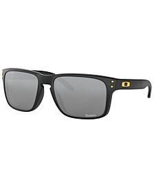 NFL Collection Sunglasses, Pittsburgh Steelers OO9102 55 HOLBROOK