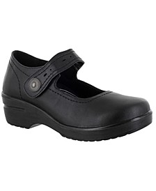 Easy Works by Women's Letsee Mary Jane Clogs