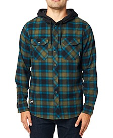 Men's Avalon Hooded Flannel Shirt