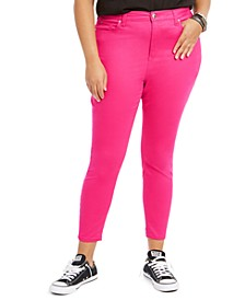 Plus Size High-Rise Skinny Jeans
