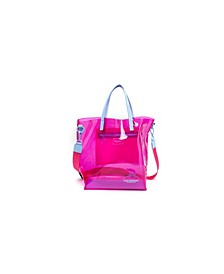 Clear Retro Colorway Tote Bag