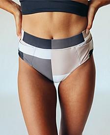 Women's Nani Pocket Mid Rise Swim Bottom
