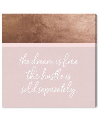 Hustle and Dream Canvas Art, 43