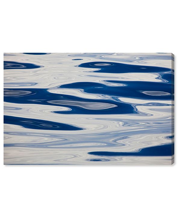 """Oliver Gal Ocean Surface Abstract by David Fleetham Canvas Art, 24"""" x 16"""""""
