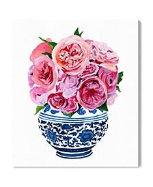"Julianne Taylor - Peonie Vase Canvas Art, 30"" x 36"""