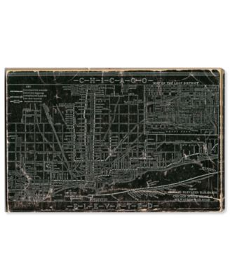 Chicago Railroad Canvas Art, 36