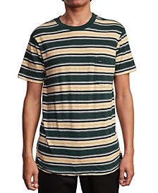 Men's Slim-Fit Hank Striped Knit T-Shirt