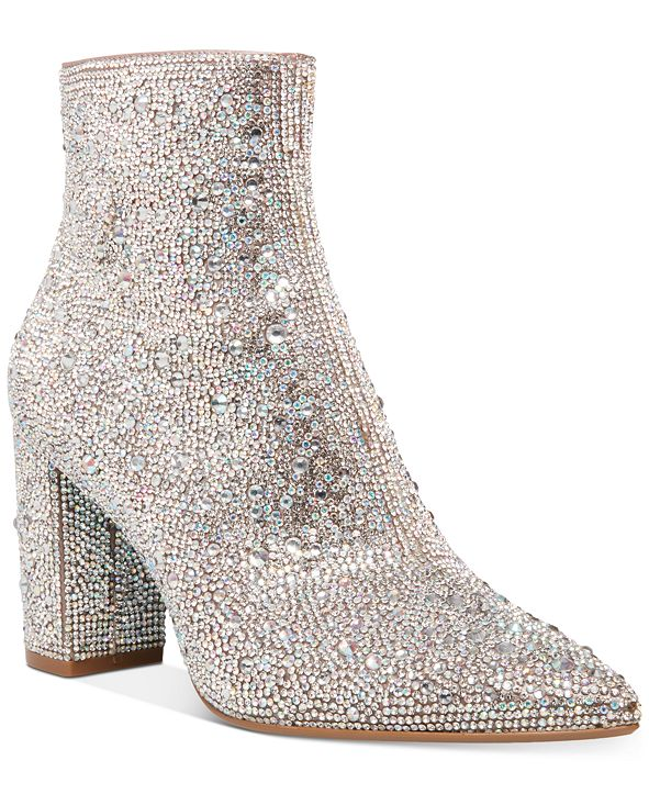 Blue by Betsey Johnson Women's Cady Evening Booties
