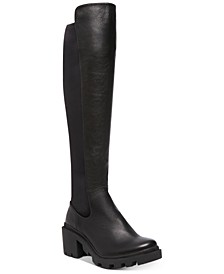 Women's Rino Lug Over-The-Knee Boots