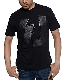 Men's Faux Snakeskin T-Shirt