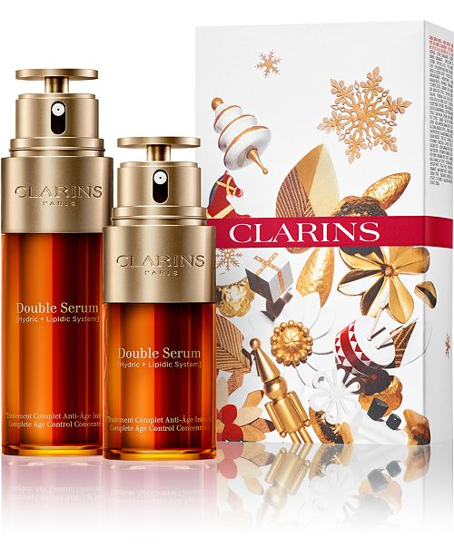 Clarins Macy's exclusive 2-Pc. Double Serum Double Edition Gift Set