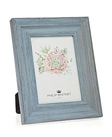 "Light Blue Wood Frame - 5"" x 7"""