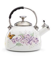 Lenox Butterfly Meadow Kitchen Tea Kettle, Created for Macy's