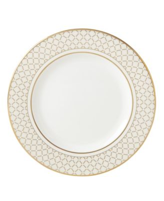 Venetian Lace Gold Salad Plate
