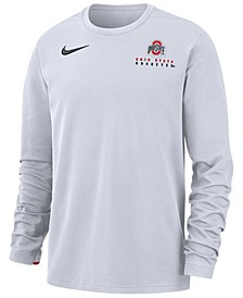 Men's Ohio State Buckeyes Dry Top Crew Sweatshirt
