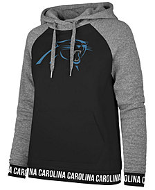 '47 Brand Women's Carolina Panthers Revolve Hooded Sweatshirt